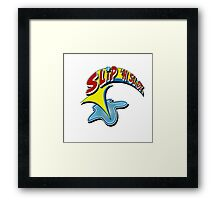 slip n slide Framed Print