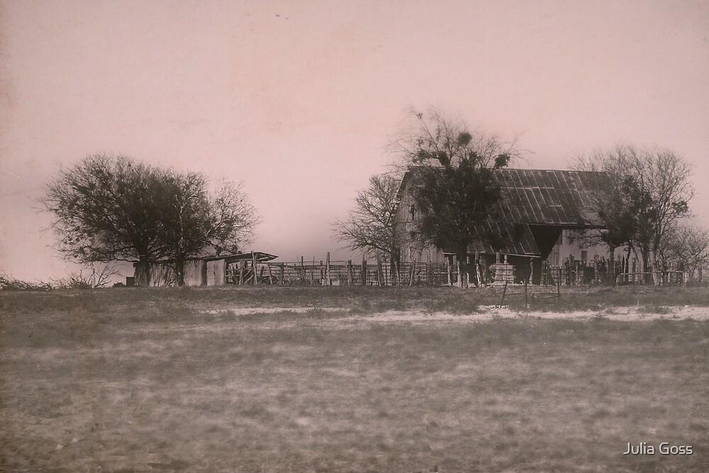 Old barn by Julia Goss