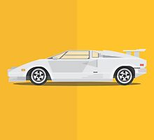 The Wolf of Wall Street - Vehicle Inspired Print by George Townley