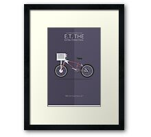 E.T. the Extra-Terrestrial - Vehicle Inspired Print Framed Print