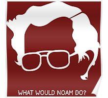 Noam Chomsky Poster