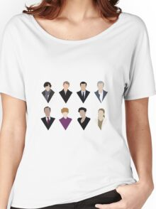 Sherlock and 'Friends' Women's Relaxed Fit T-Shirt