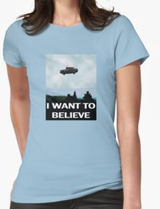I Want To Believe In Harry Womens Fitted T-Shirt