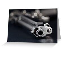 Pistol Greeting Card