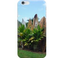 Surfboard Fence iPhone Case/Skin