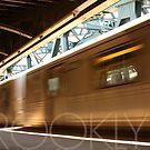 Brooklyn, NY Train by Vanpinni