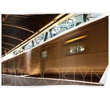 Brooklyn, NY Train Poster