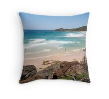 Shelly Beach Throw Pillow