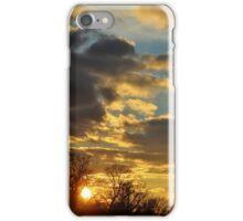 Dramatic Winter Sky iPhone Case/Skin