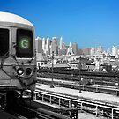 Brooklyn G train by Vanpinni