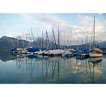 Boat Lake, Germany Photographic Print
