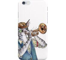 When Playing Jazz iPhone Case/Skin