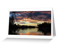 Mildura Sunset Greeting Card