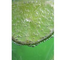 Lime Tingle Photographic Print