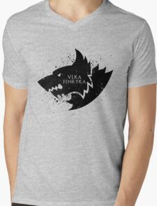 Fenris Remembers (Vlka Fenryka) Mens V-Neck T-Shirt