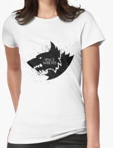 Fenris Remembers (Space Wolves) Womens Fitted T-Shirt