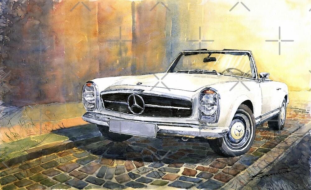 Mercedes Benz W113 280 SL Pagoda Front by Yuriy Shevchuk