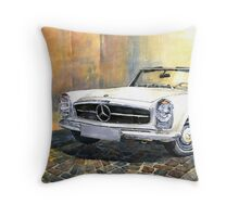 Mercedes Benz W113 280 SL Pagoda Front Throw Pillow