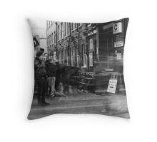 five seconds in brick lane__1 Throw Pillow
