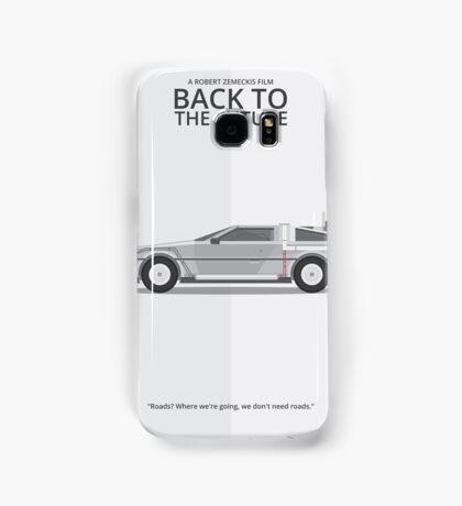 Delorean - Vehicle Inspired Print Samsung Galaxy Case/Skin