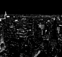 The amazing lights of New York by glennwest