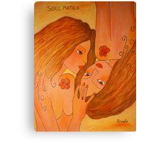 Soul-mates.... Canvas Print