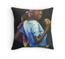 Malawi Way Throw Pillow