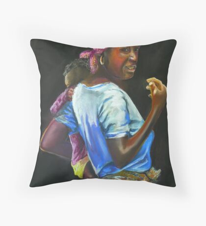 Malawi Way Throw Pillow