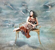 Lady of the sea... by Lisa Argyropoulos