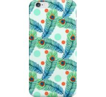 peacock feathers iPhone Case/Skin