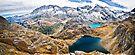 Laghi Agnel e Serru` ~ Nivolet ~ Panorama by Adriana Glackin