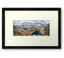 Laghi Agnel e Serru` ~ Nivolet ~ Panorama Framed Print