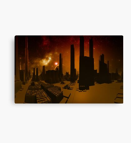 Abandoned World  Canvas Print