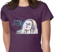 Meg's Unicorn - A Supernatural Megstiel design! Womens Fitted T-Shirt