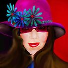 Mimee's Purple Hat by Sherryll  Johnson