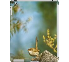 ~ a visitor in the garden ~ iPad Case/Skin