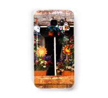 Tuscan window - Siena Samsung Galaxy Case/Skin