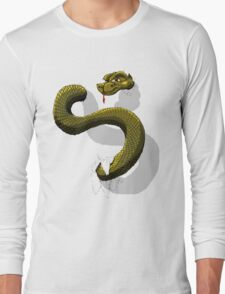 Snake-o-Rooter! Long Sleeve T-Shirt