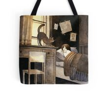 Autumn mornings Tote Bag