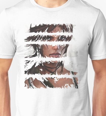 Lara Croft Torn Unisex T-Shirt