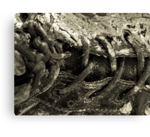 boot lace Canvas Print