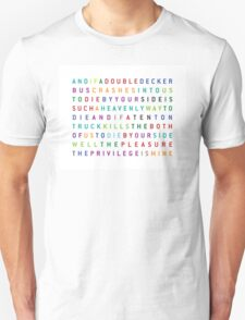 The Smiths - There is a light that never goes out Unisex T-Shirt