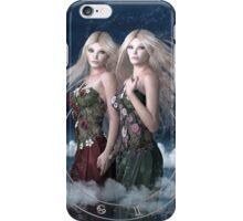 Gemini zodiac fantasy circle iPhone Case/Skin