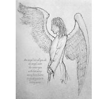 An angel's arms Photographic Print