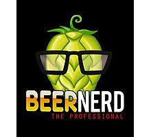 Beer Nerd Photographic Print