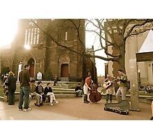 Street Performers Photographic Print