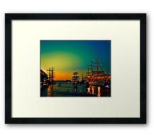 Summer evening  Framed Print
