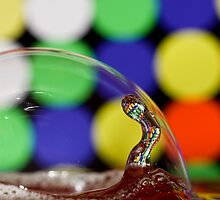 Bubbles and Drops 6 by Jay Stockhaus
