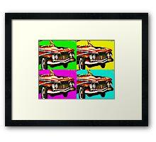 plymouth fury Framed Print