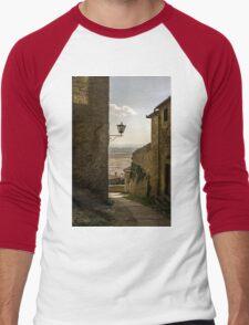 Cortona, Tuscany Men's Baseball ¾ T-Shirt